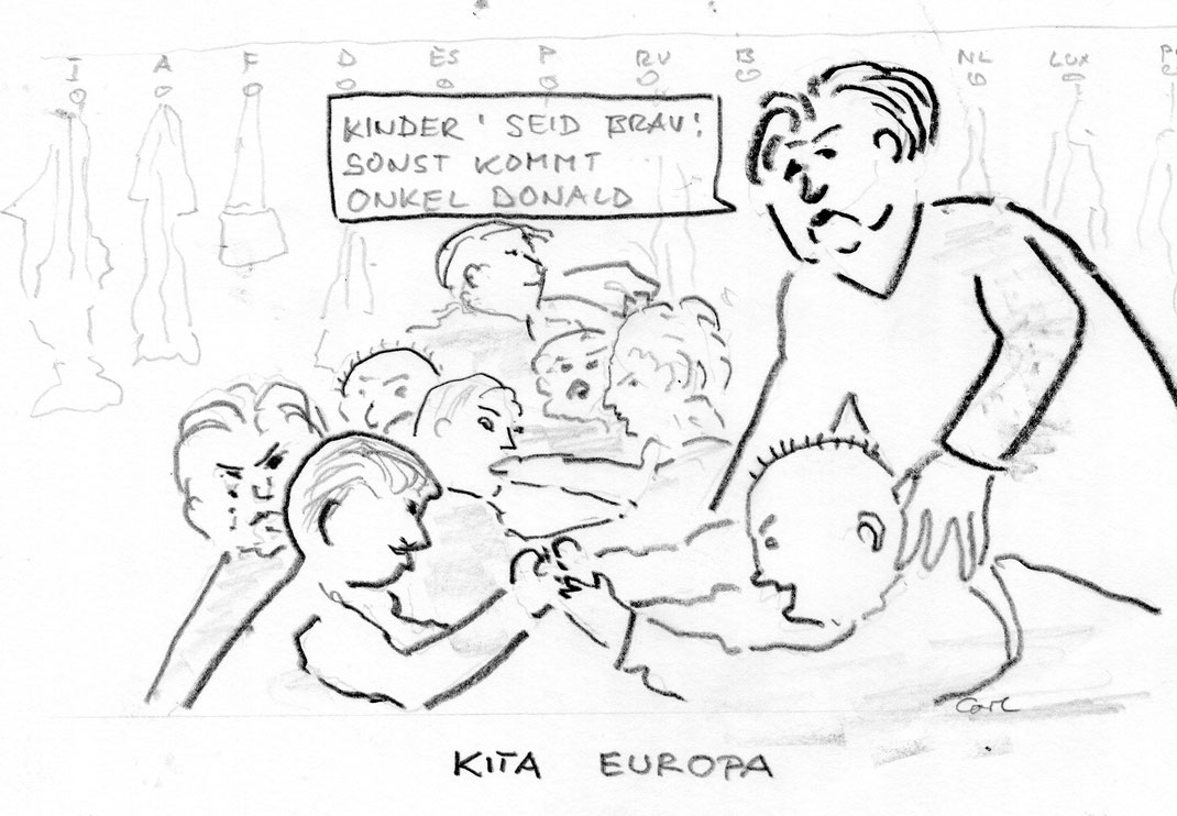 Karikatur vorerst nicht zeitgebunden