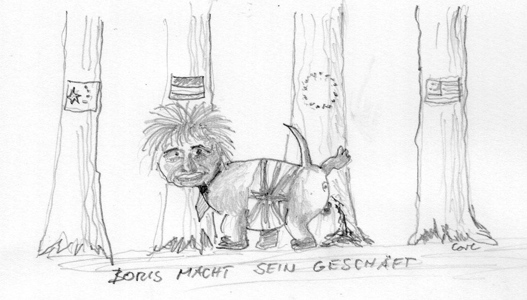 Boris Johnson geniert sich nicht - Frühjahr 2016