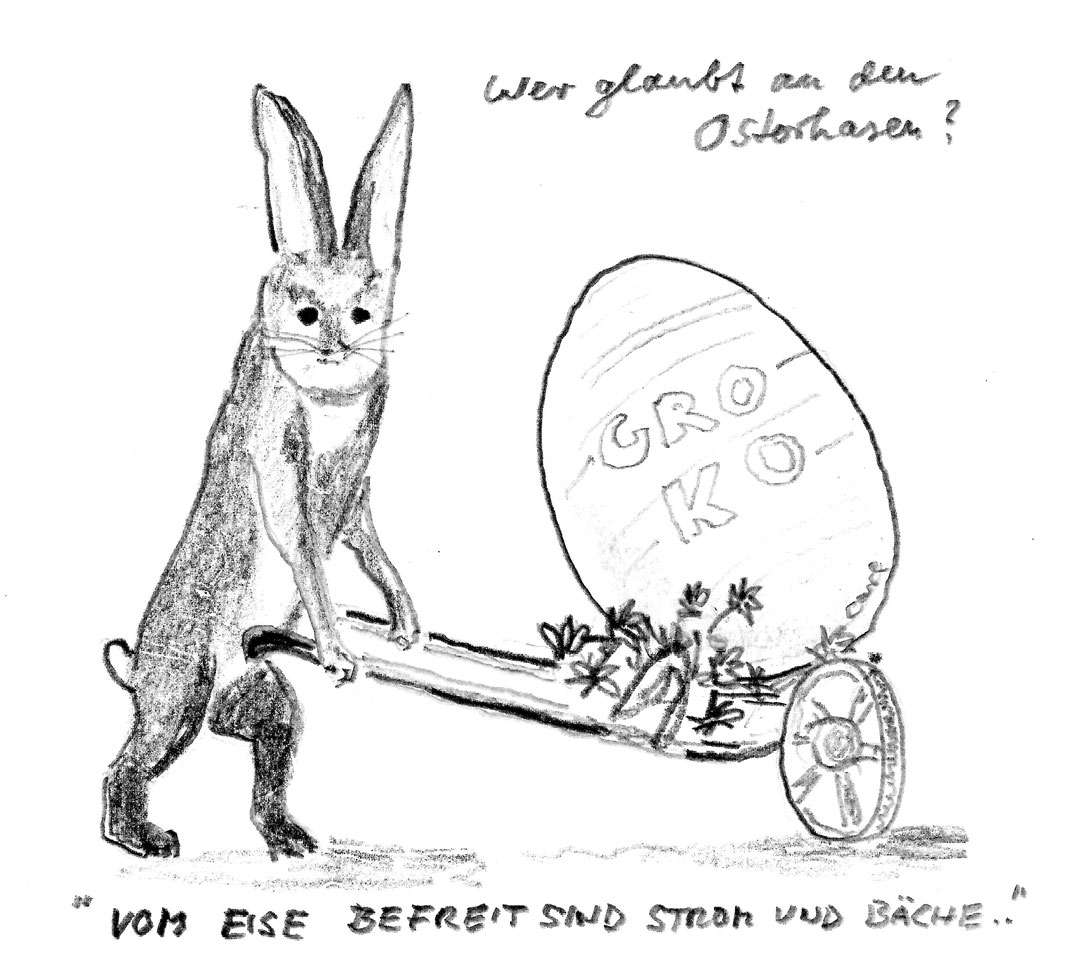 Das Überraschungsei zu Ostern?