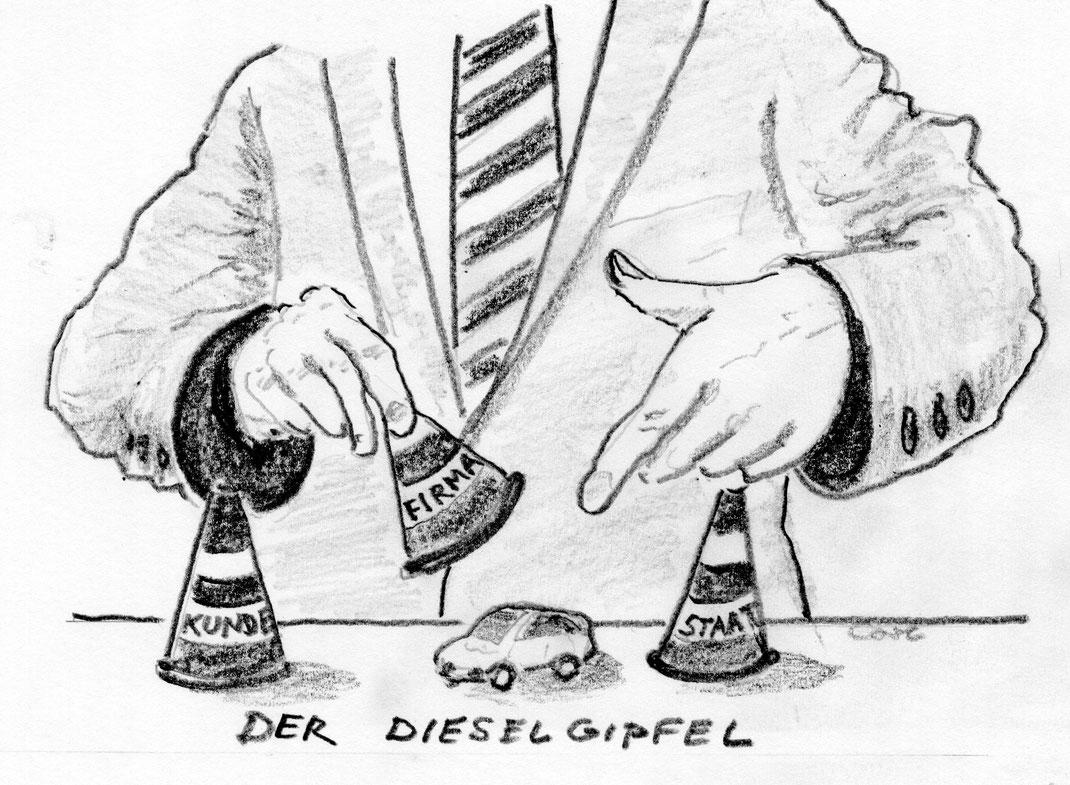 Dieselgipfel August 2017