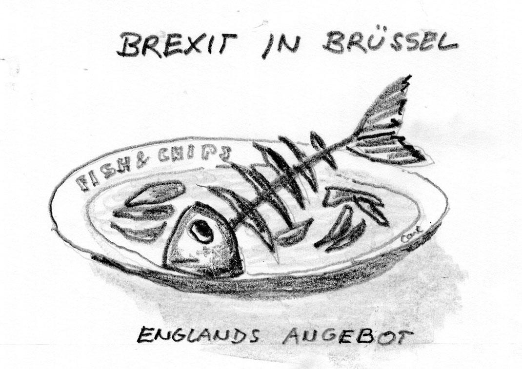 Juli 2017 - Beginn der Brexit-Verhandlungen