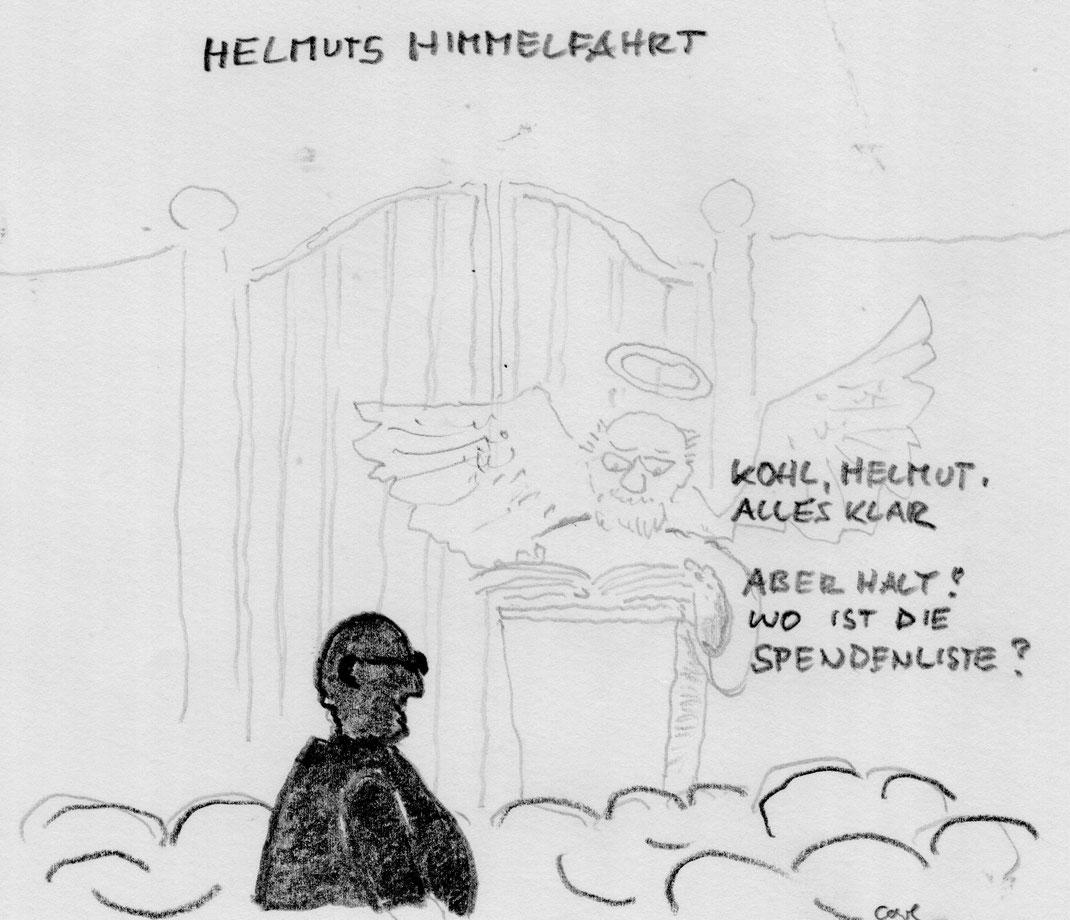 zum Tod von Helmut Kohl