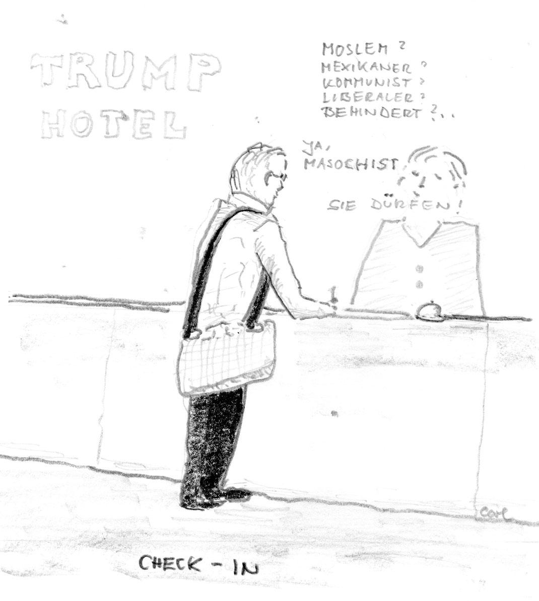 Einreisebehinderungen durch US-Regierung - Februar 2017