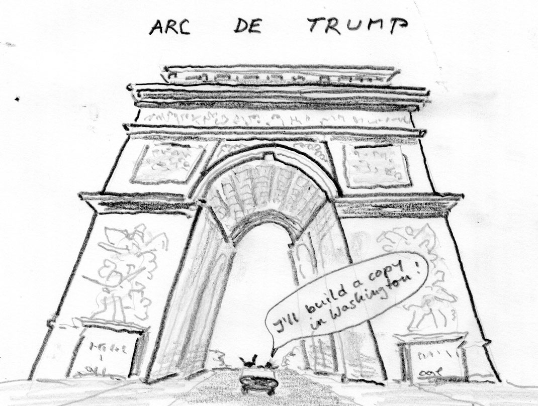 14 Jui 17, Trump in Paris