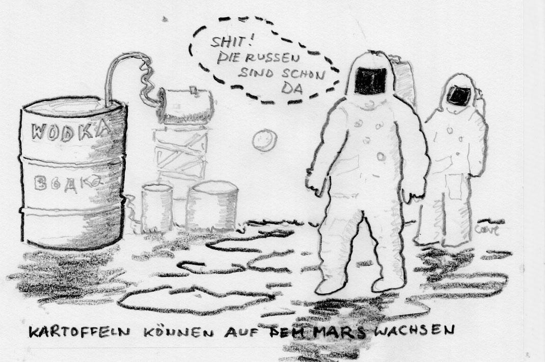NASA meldet: Kartoffelanbau auf dem Mars ist denkbar - 30. März 2017