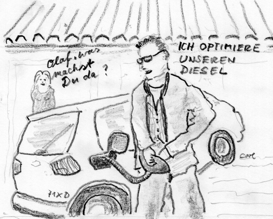 Optimierung von Diesel durch Harnsäure