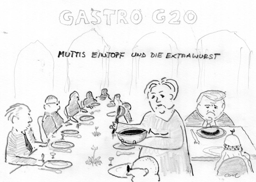 G-20-Gipfel Hamburg Juni 2017