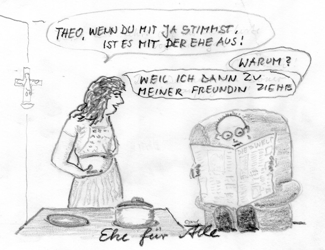 30. Juni 2017 Bundestag beschliesst Ehe für alle