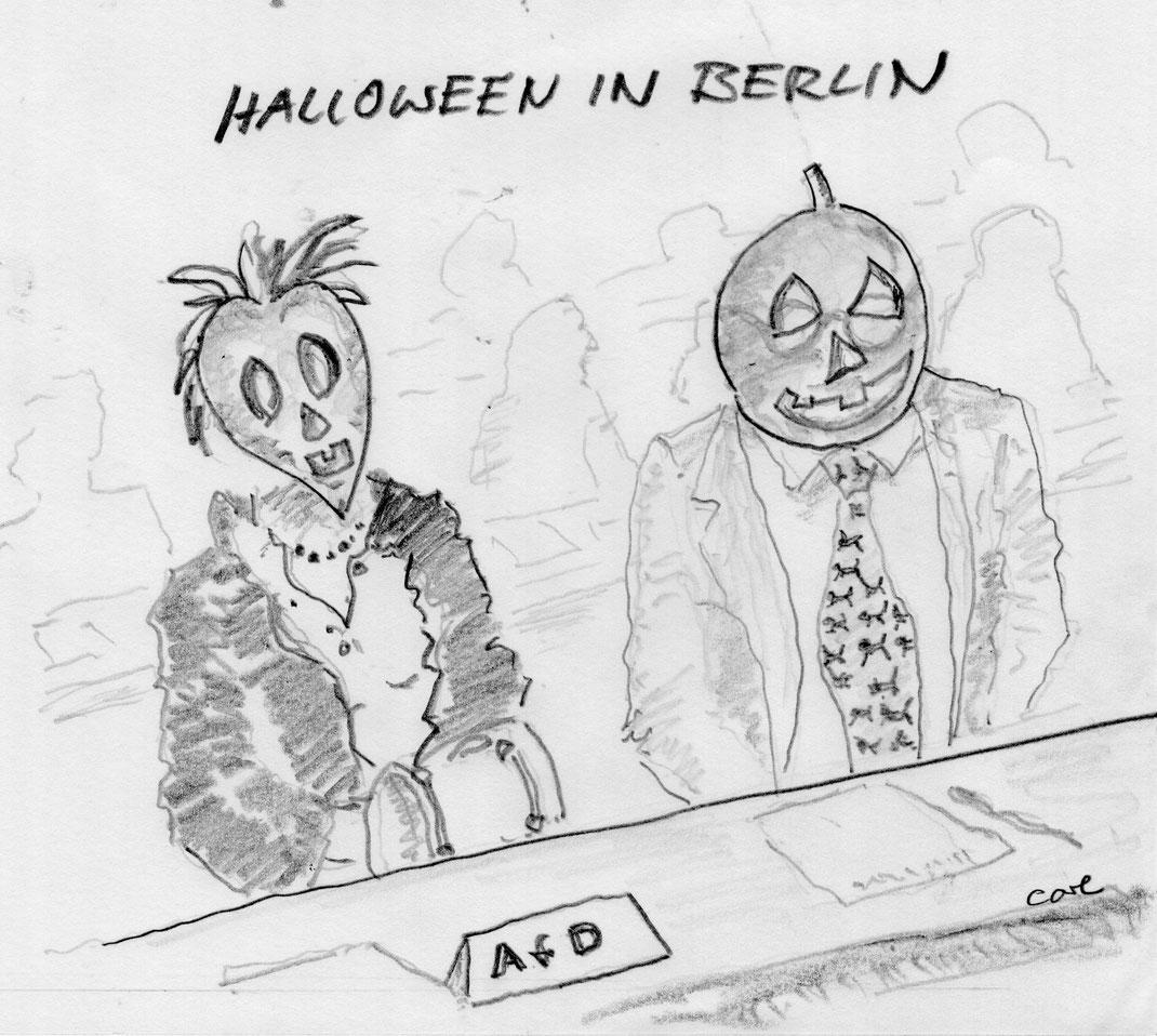 Premiere: Die AfD im Bundestag