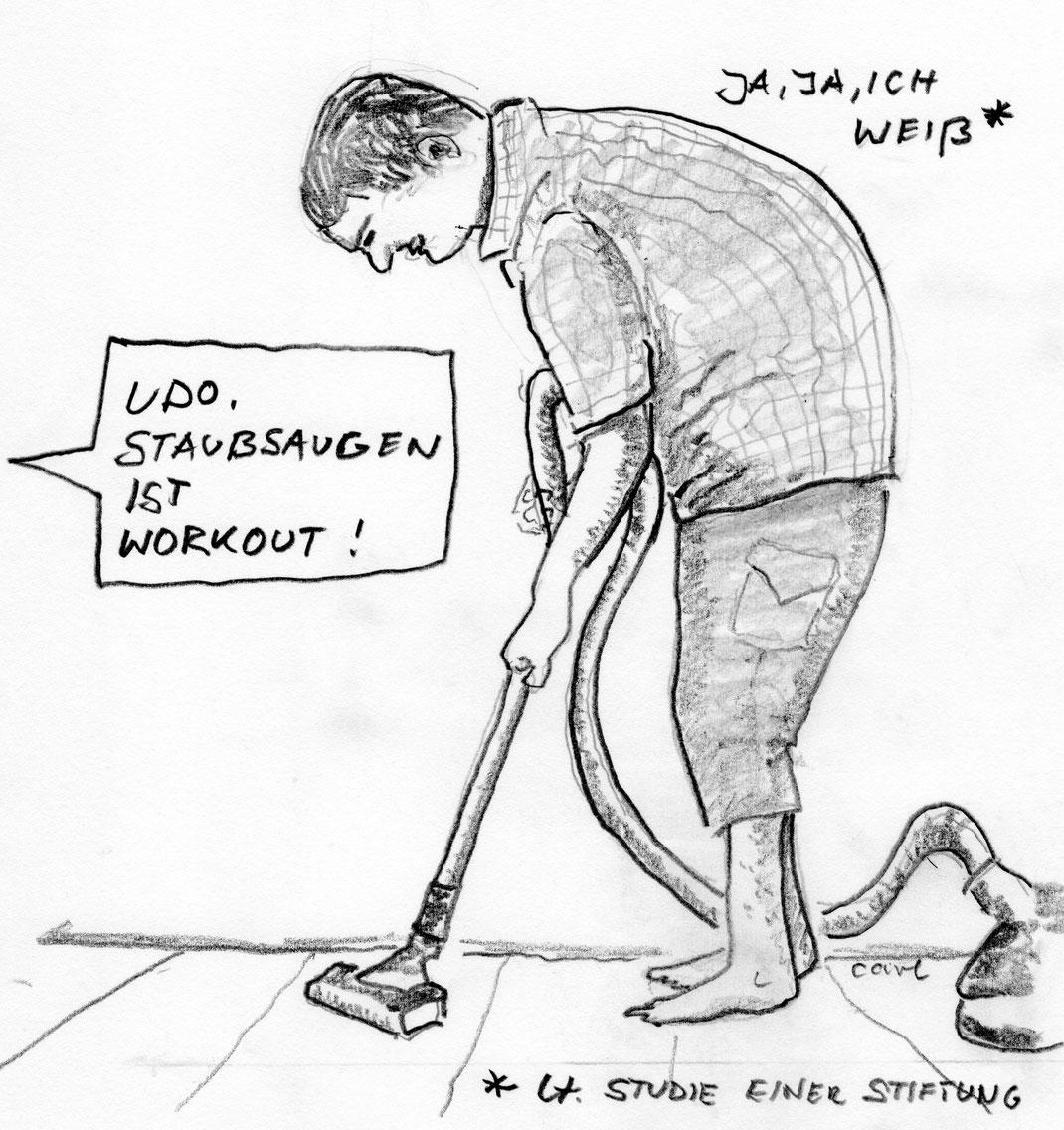 Hausarbeit ist geil und gesund