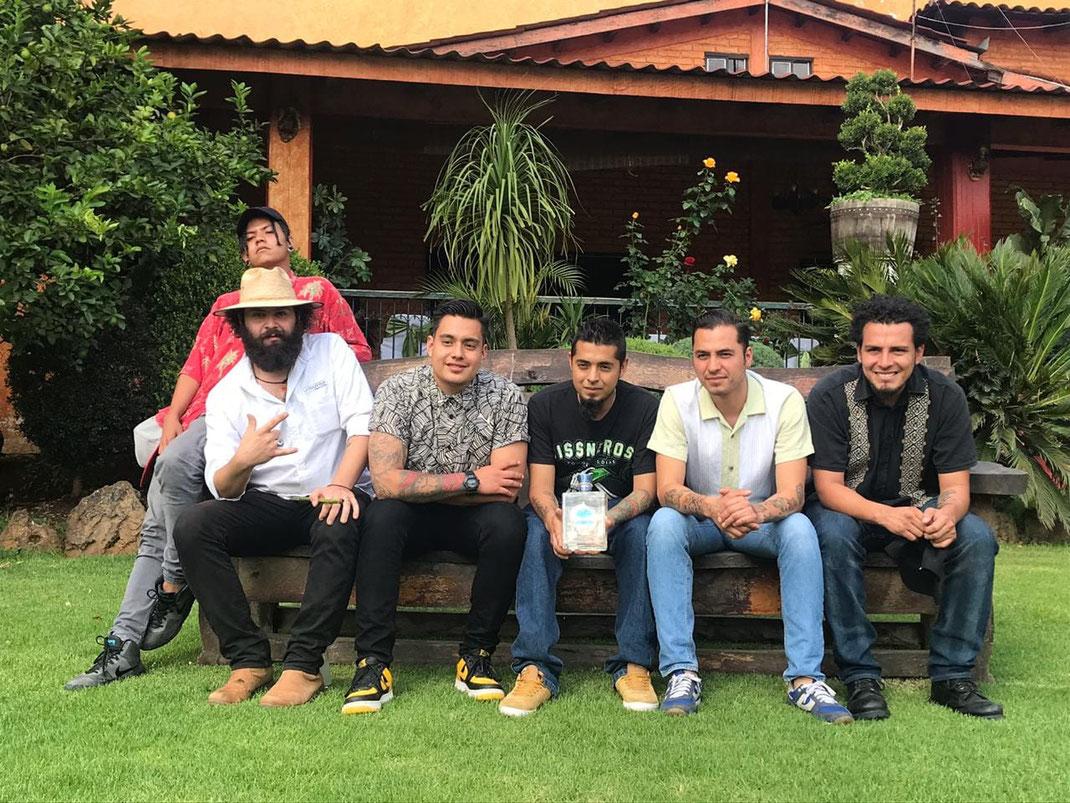 Perzi Rodriguez, Christopher Lopez, Juan Beltran, Sergio Diaz, Fernando Vargas, Jesus Moar