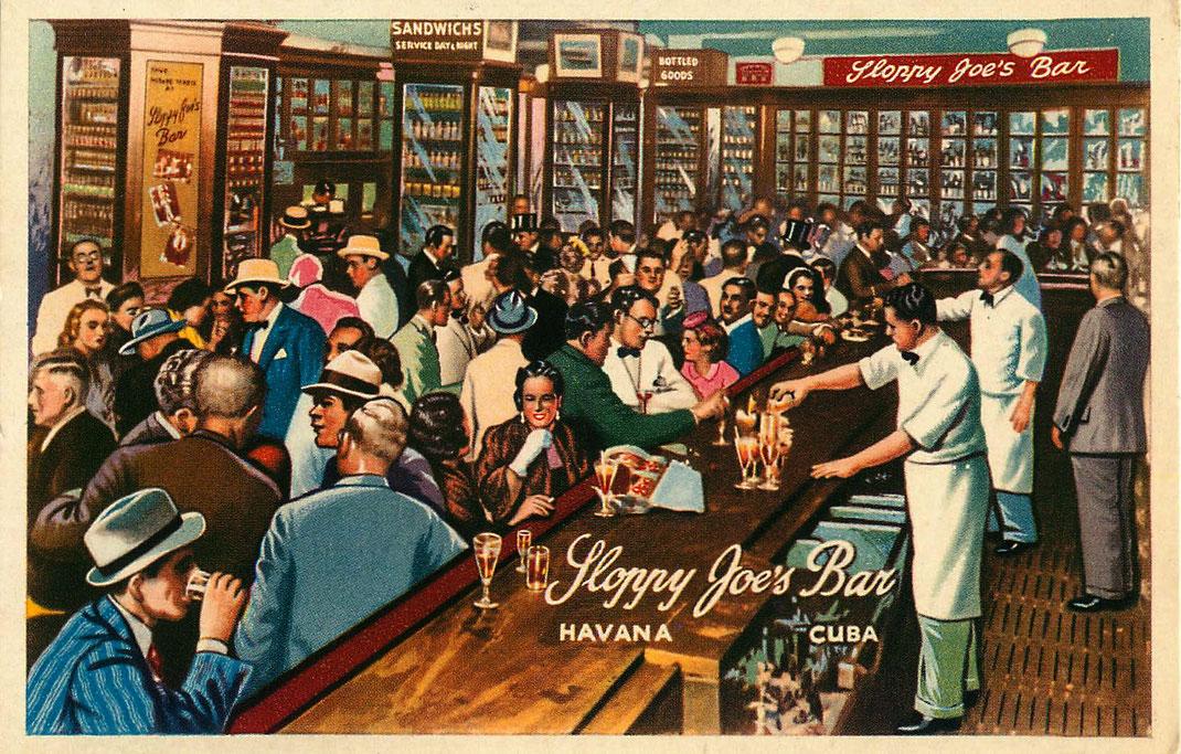 Sloppy Joe's Bar Havana Cuba