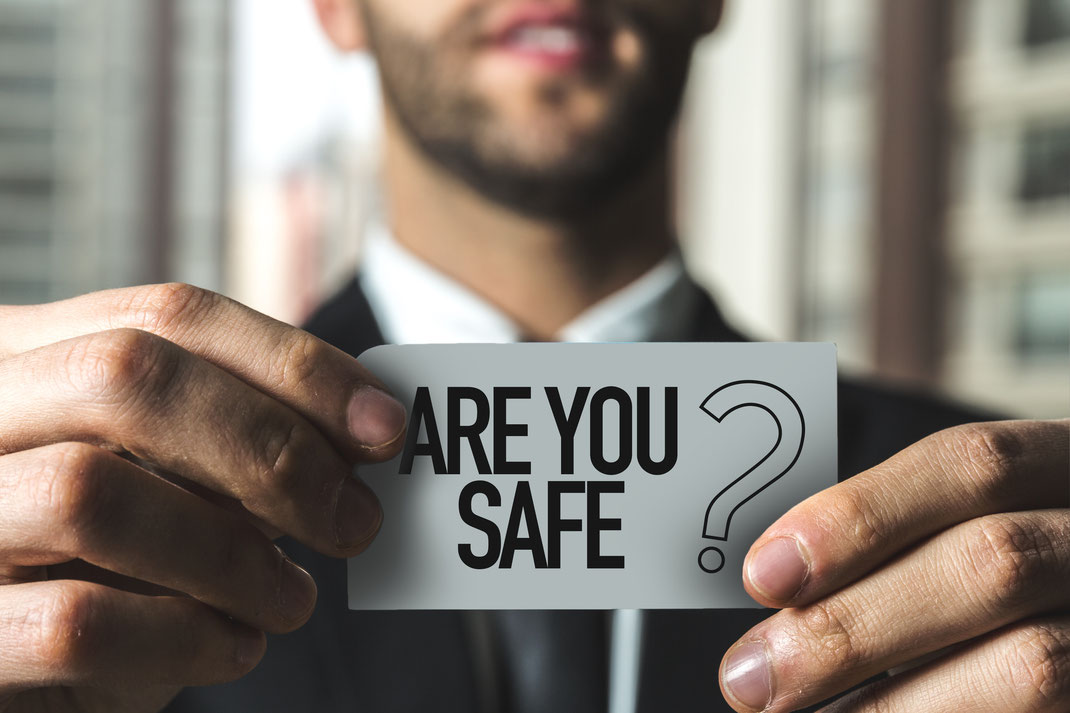 SafeTech Frage: Sind Sie sicher?