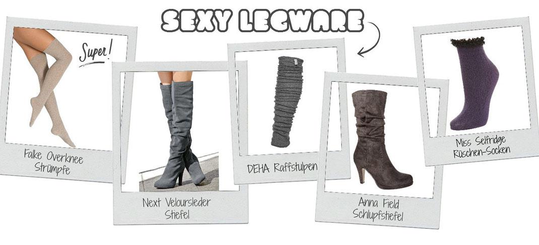 Lifestyle Trend   Sexy Legware! Warum Overknees & Stulpen jetzt so schwer angesagt sind