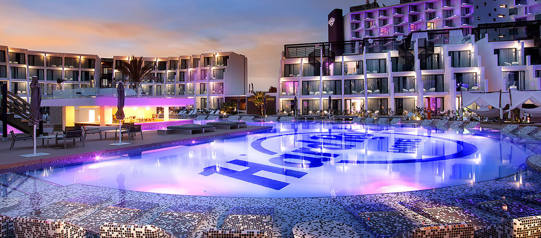 Style Ambiente im Hard Rock Hotel Ibiza