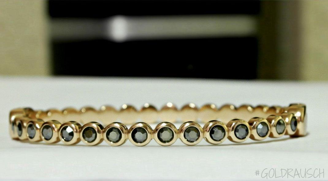 Im #Goldrausch Dank meines neuen DKNY Glitz Armbandes