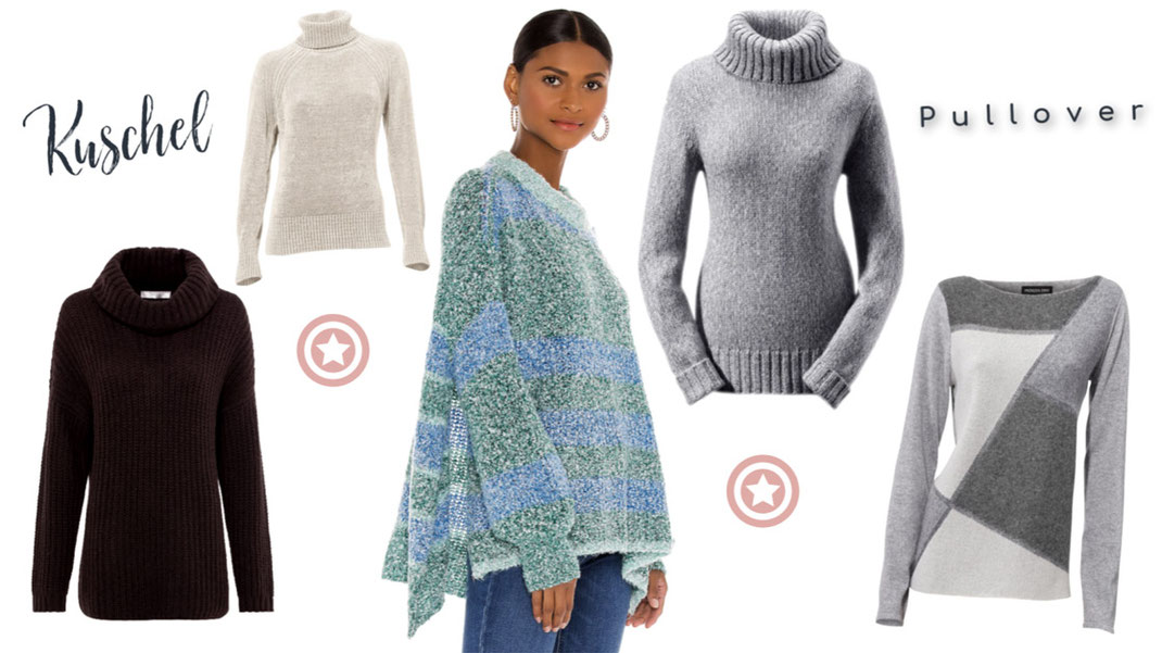 Pullover Trends für Herbst 2020: Wie Ihr mit kuscheligen Materialien die kühlen Tage überstehen werdet, erfahrt Ihr in diesem Post auf Hot Port Life & Style | Dem deutschen Mode & Style Blog für Frauen ab 30+