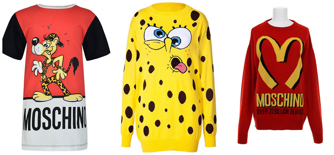 Moschino Crazy Lifestyle Couture | From Junk Food to Cartoon Dresses
