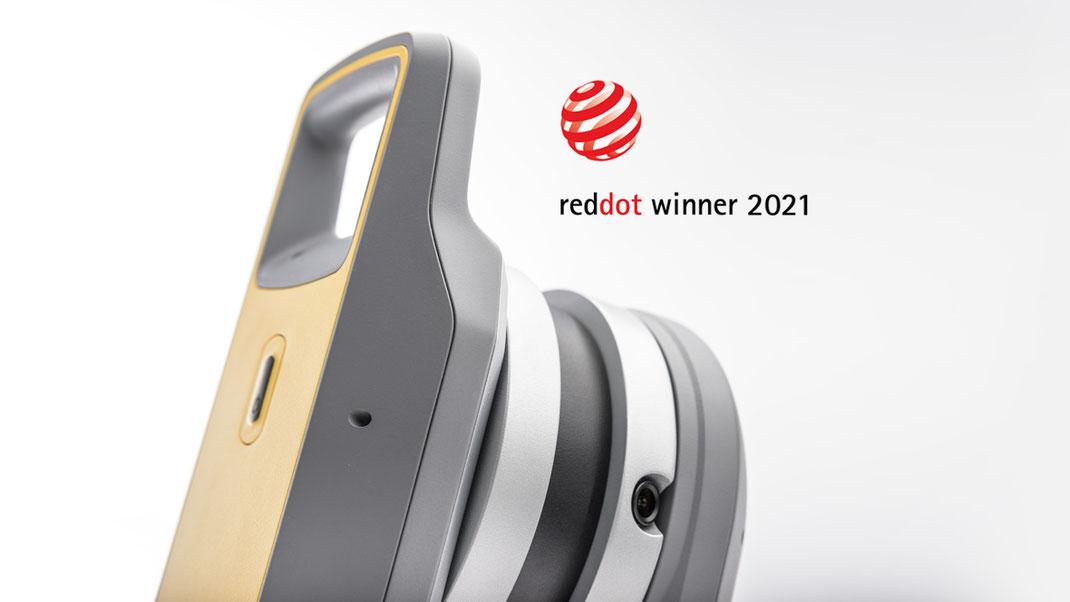 Trimble X7, 3D Laserscanner, Industriedesign, Ideation, Usability, Red Dot Design Award 2021, Winner, ART-KON-TOR Agenturgruppe