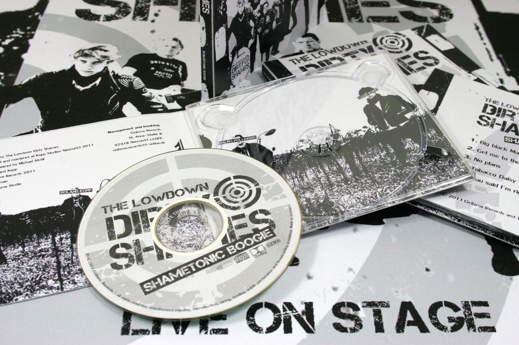 Poster + Cover Artwork, The Lowdown Dirty Shames, Rockabilly, Garagepunk