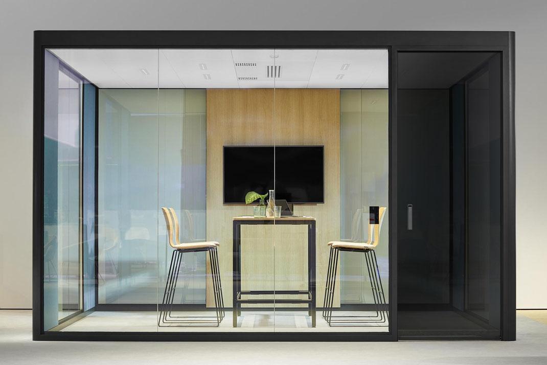 Bosse Design, Höxter, Cube 4.0, Raum in Raum System, Meeting, Besprechung, Büro, Design