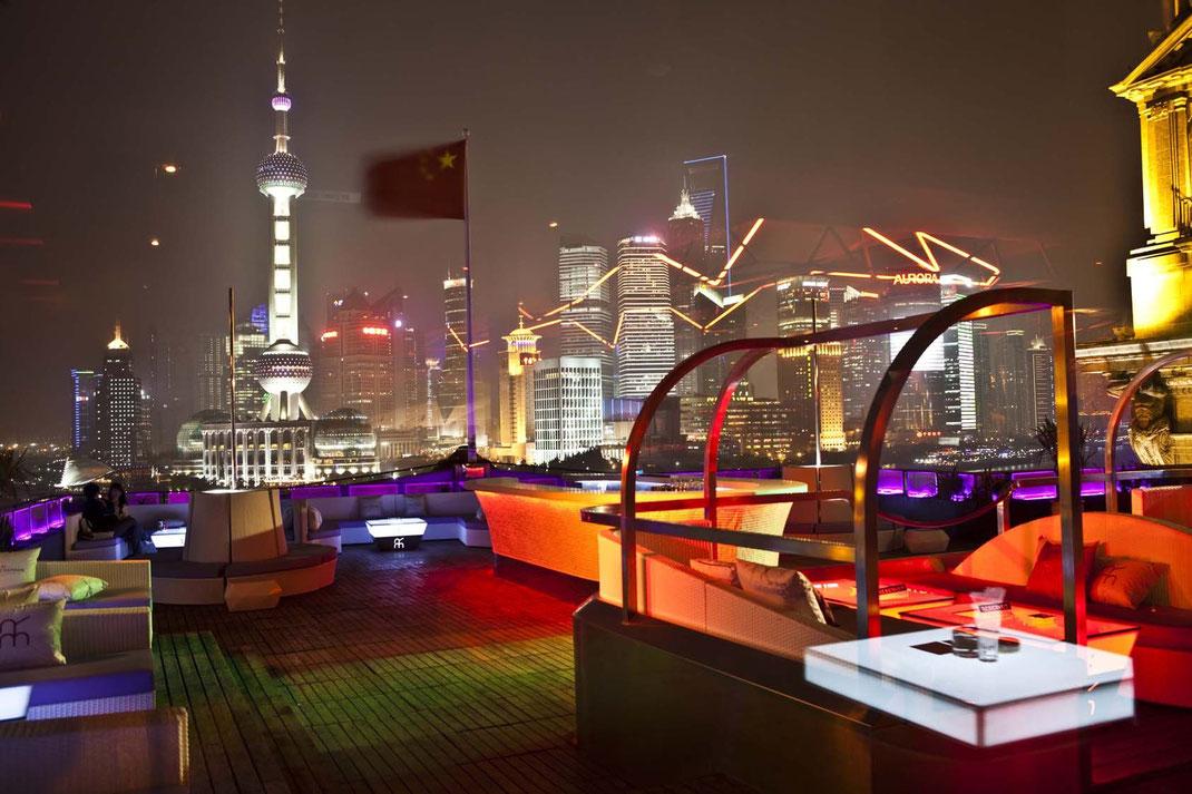 Shanghai Bar Rouge Terrasse