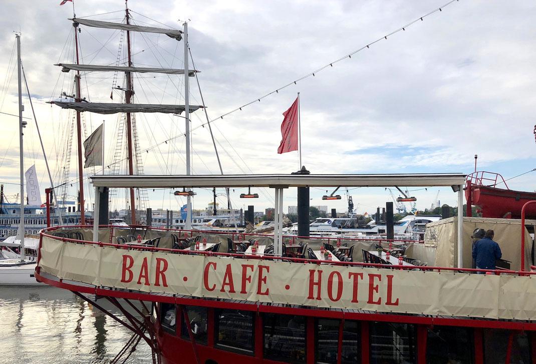 Hamburg Hafen Gastronomie
