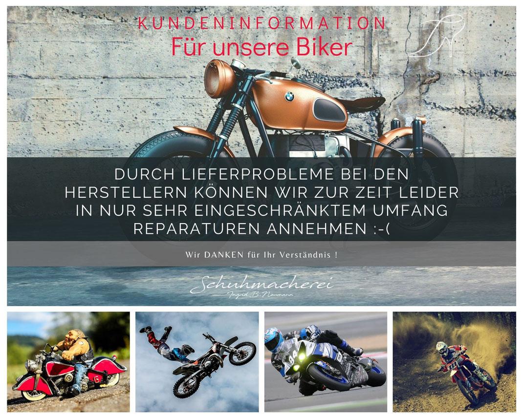 Flyer Motorradstiefel Information Juni 2021