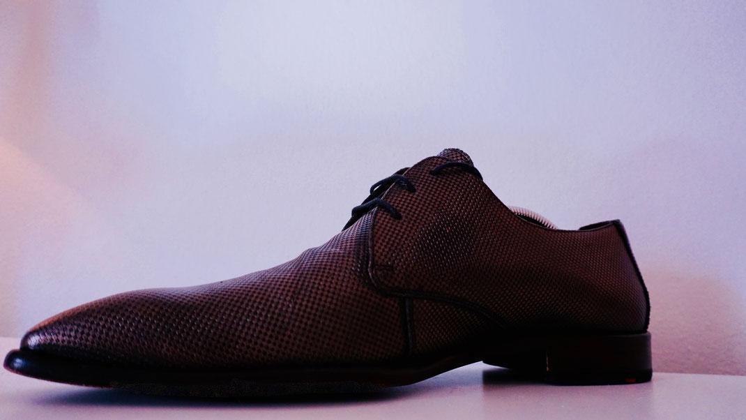 Schuhspanner mit Spiralfeder in Herrenschuh