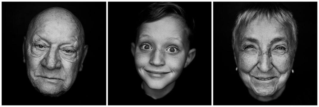 schwarz weiß. Portrait, Porträt, black, white, geschicht, augen, ringlicht, lächeln, ausdruck, stark, persönlichkeit, ich, vanessa, teichmann, ruschwedel