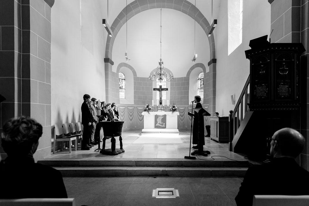 Kirche, Zeven, Gottesdienst, Konfirmation, Sommer, Prädigt, Konfirmanden