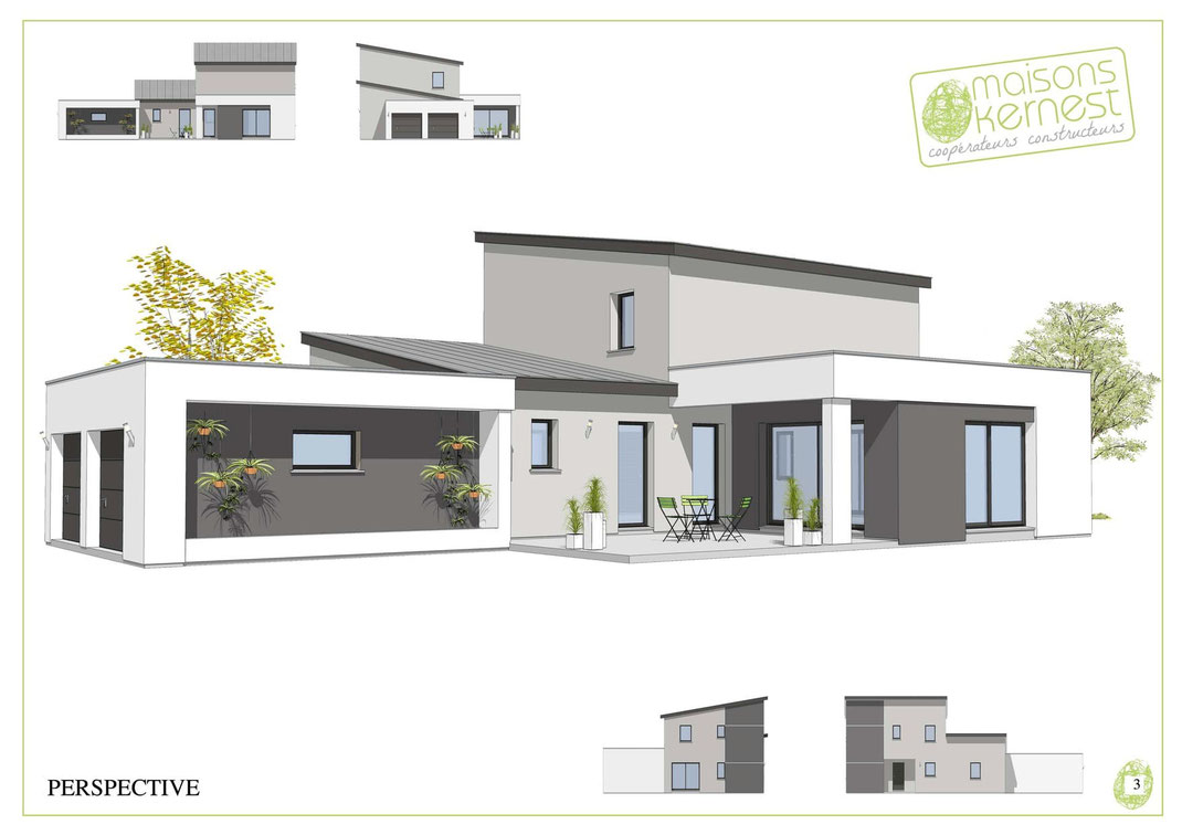 Maisons Kernest, le constructeur en coopérative, pour construire votre maison neuve sur un terrain à la Chapelle-sur-Erdre (44240)