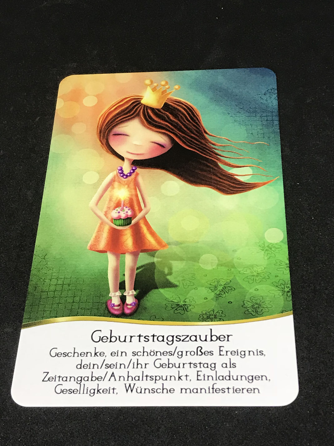 Sans Souci Cards von Nadine Breitenstein auf Phönixzauber kostenlose Tagesbotschaft