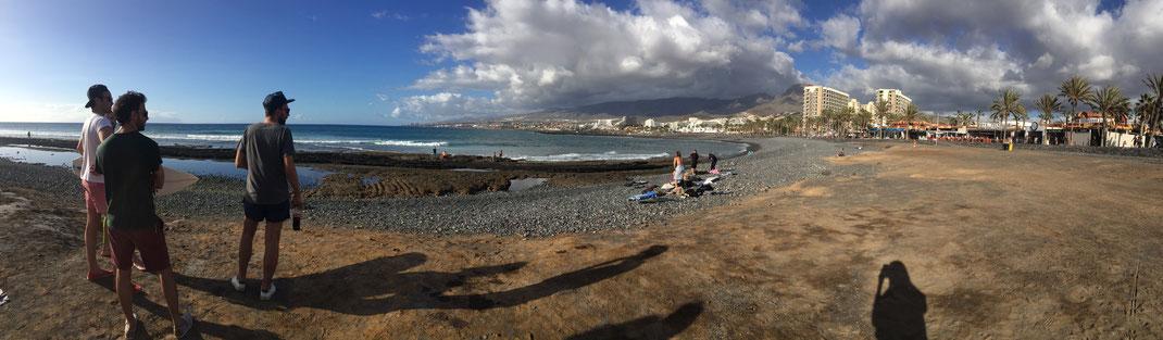 Playa las Americas à marée basse