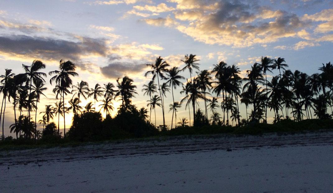Sunset à Matemwe (Zanzibar)