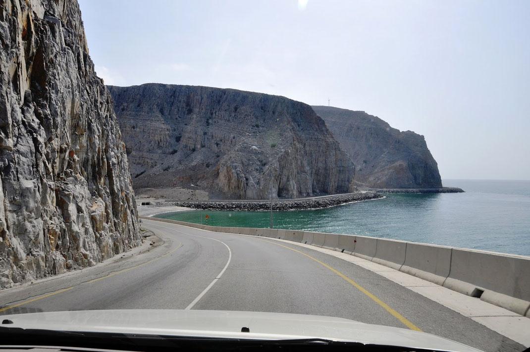 Oman sur la route de Musandam