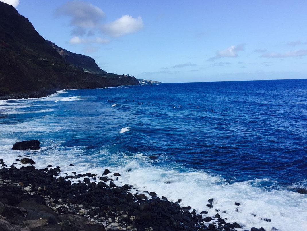 Sable Noir et plage volcanique