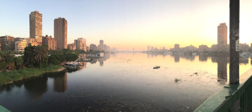 le Nil au petit matin
