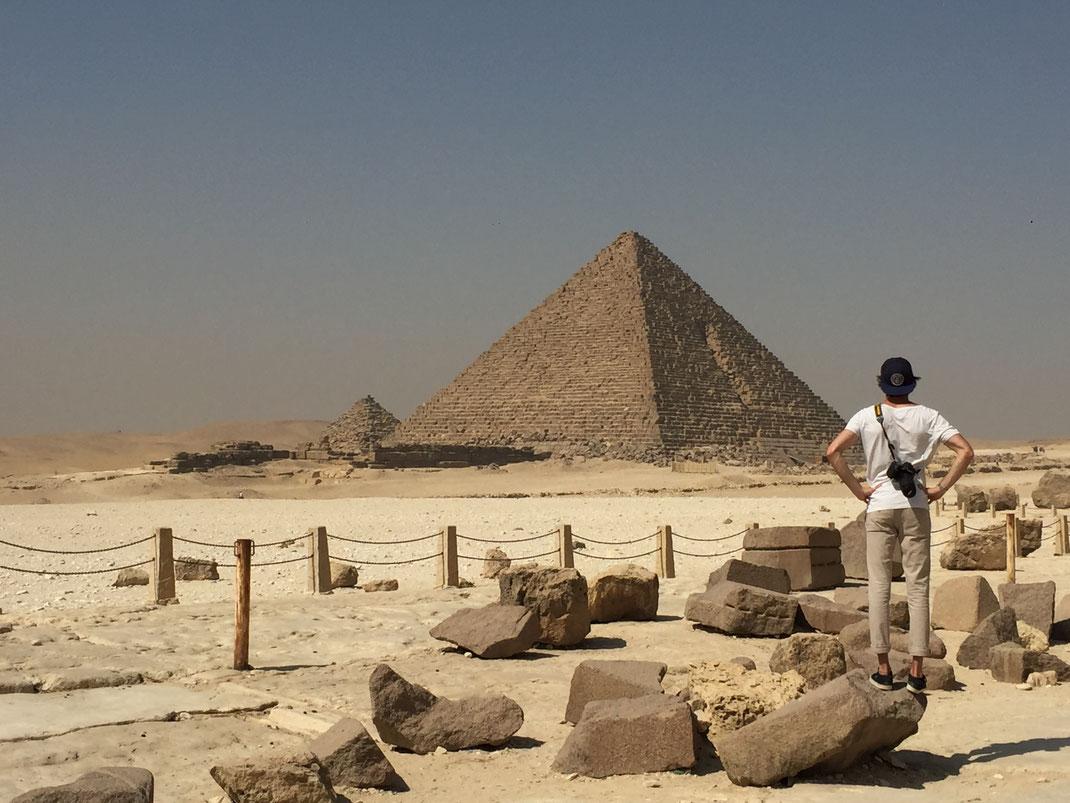 Pyramide de Khéphren et Mykérinos