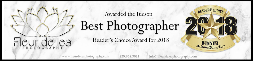 Tucson Best Photographer award readers choice 2018