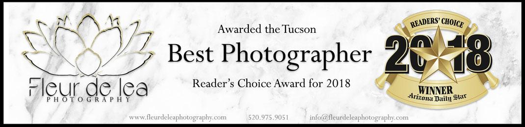Tucson Best Photographer award readers choice 2018