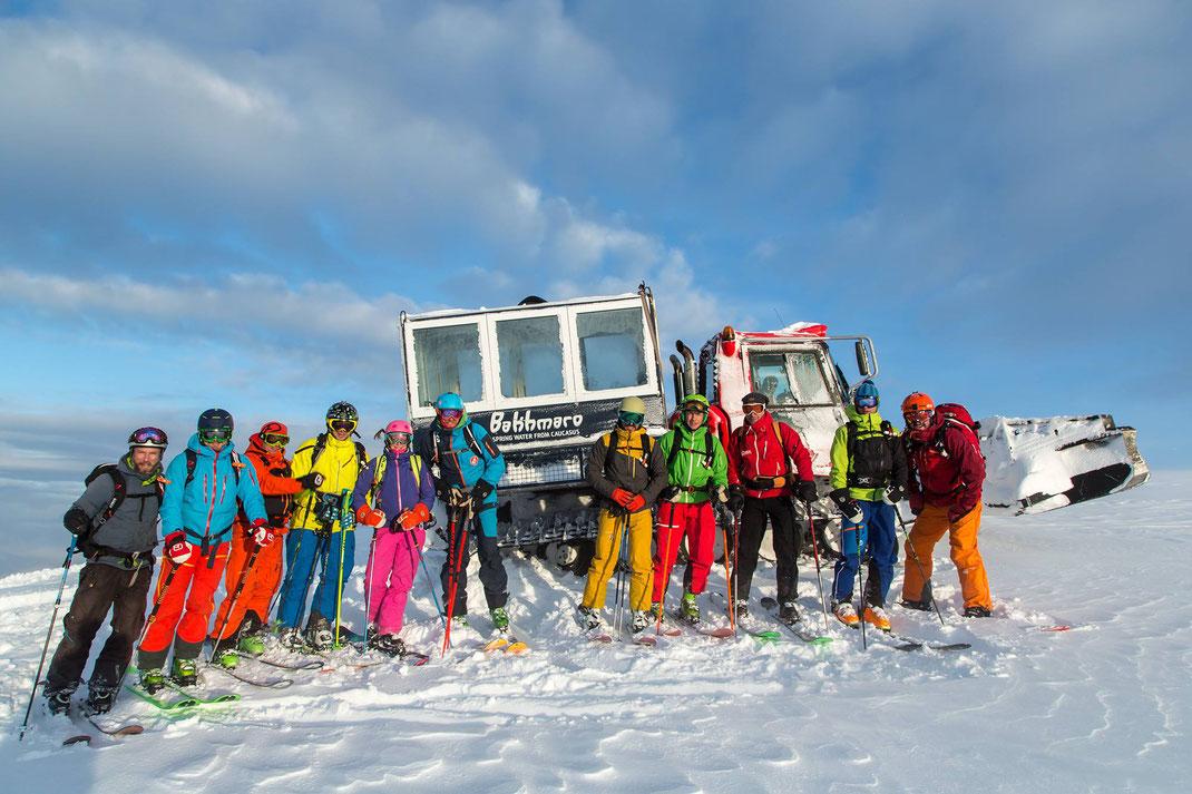 Was für ein Erlebis unsere Pioniersaison in Bakhmaro. Wer dabei war wird es nie vergessen... © whitehearts.de