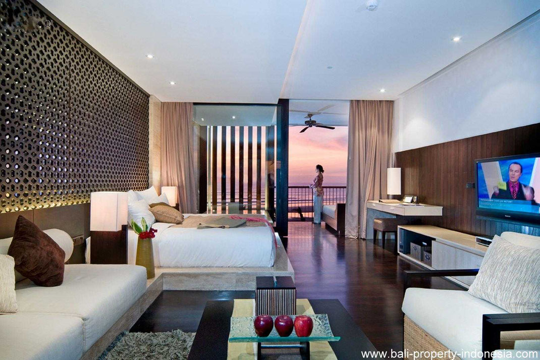 Seminyak beachfront apartment for sale