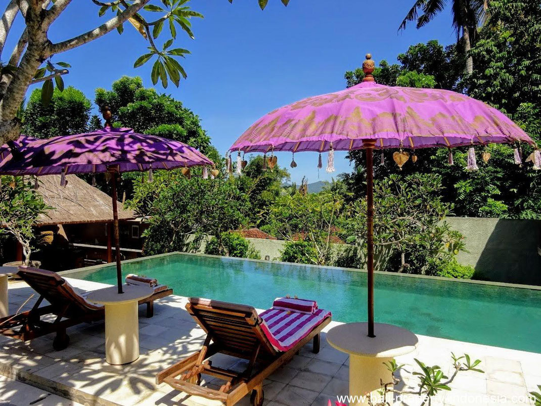 Manggis villa for sale with 3 bedrooms