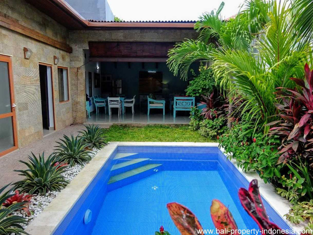 Sanur house for sale on the West side of Sanur