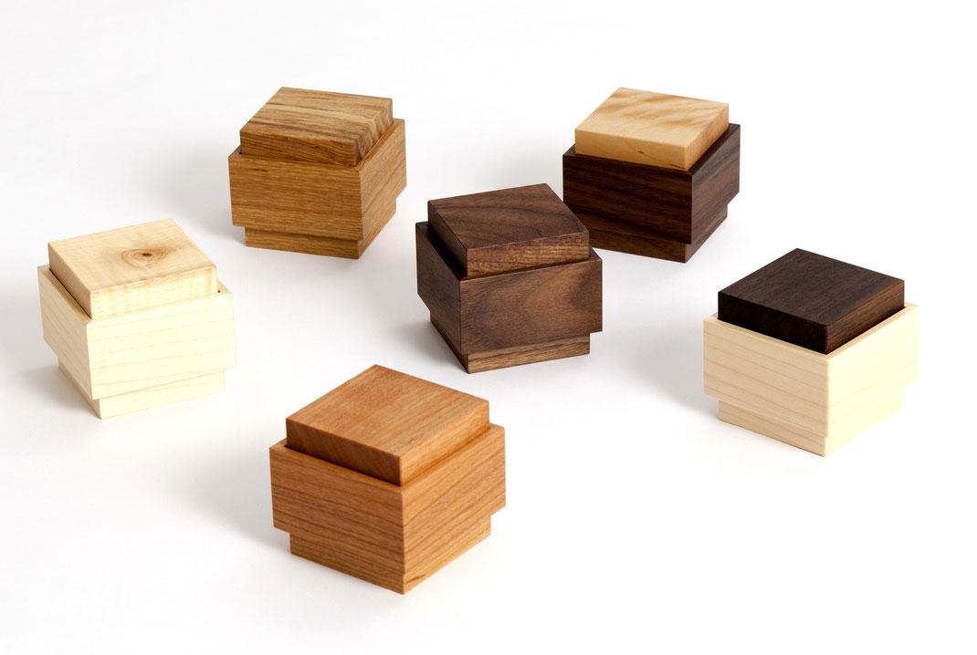 kleine Holzdosen