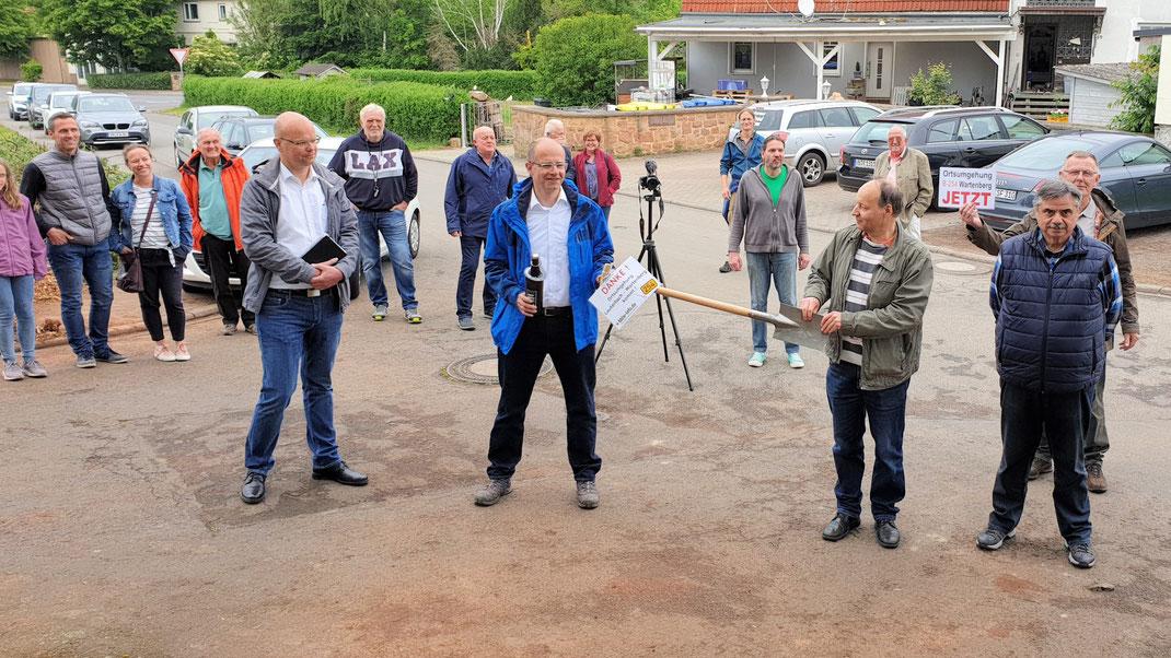 Michael Brand (MdB) zu Besuch beim Bürger Bündnis · Foto | Lukas Kaufmann