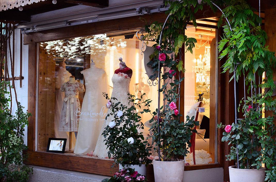 Brautatelier in der Rosenstrasse von Brautmoden Tegernsee