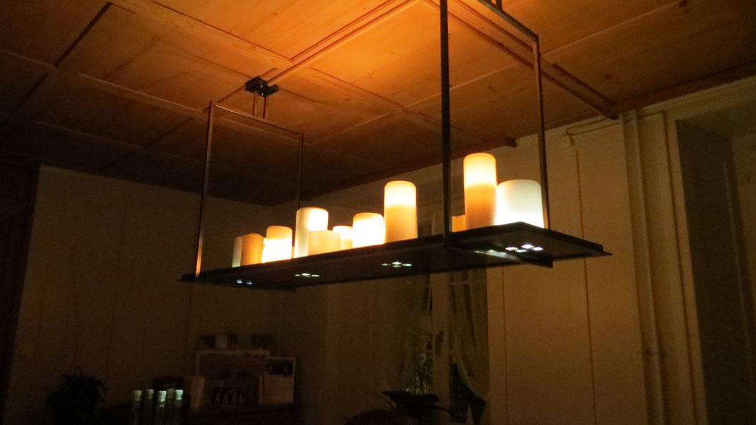 Deckenlampe Kerzenoptik  Fr. 2800.-