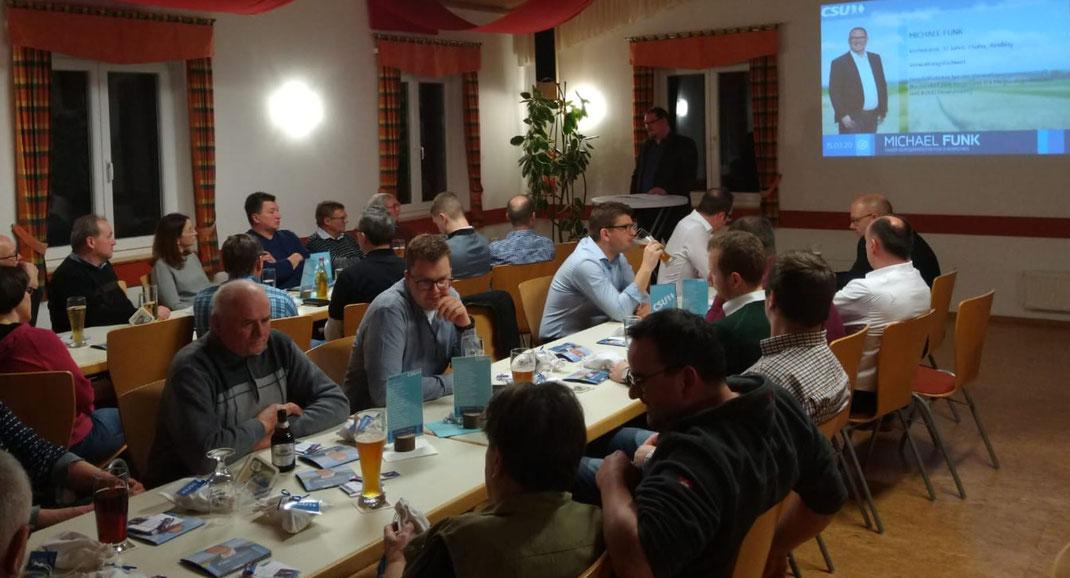 Wunderbarer Auftakt unserer Wahlveranstaltungen in Dinkelshausen. Donaumoos, Politikstil, Kläranlage... Viele Diskussionen. Danke fürs Interesse !